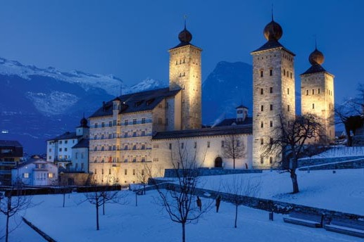 Stockalper Palace 01, Brig, Switzerland